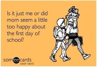 First day of school humor