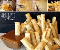 DIY Apple Pie Fries