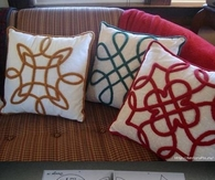 DIY Celtic Pillows