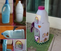 DIY Plastic Bottle Doll House