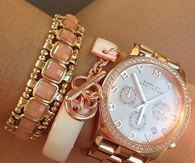 Marc Jacobs Watch and Coordinating Bracelets