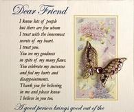 Dear Friend....
