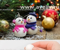 DIY Ornaments Christmas Snowman