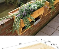 DIY Gardening Shelves
