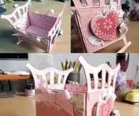 DIY Origami Crib