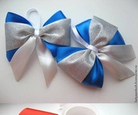 DIY Christmas Tree Bows