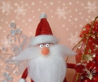 DIY Santa Claus Decorations