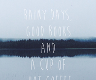 Rainy day quote