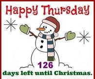 126 days till Christmas