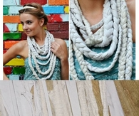 How To Make A Scarf Necklace From Old Shirts