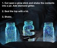 Fireflies night lantern