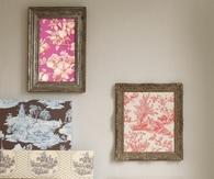Fabric wall samples