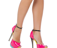 Multi-Color Stiletto Sandals