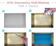 DIY Decorative Wall Shelves