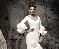 Ruffled Wedding Gown by Vicky Martin Berrocal