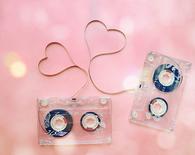 Cute Cassette Tape Hearts