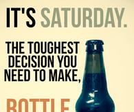 Bottle or draft