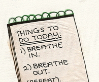 Things to do today....