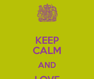 Keep Calm and Love Saturday Night!