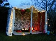 Romantic Boho Tent