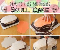 DIY Skull Cake