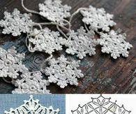 DIY Crochet Snowflakes Tutorials