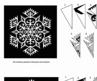 DIY Snowflakes Paper Patterns