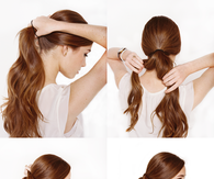 DIY KNOTTED CHIGNON WEDDING HAIR TUTORIAL