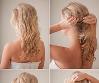 DIY Bridal hair tutorial