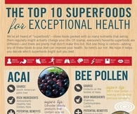 10 Superfoods For Health