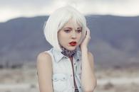 White Bob Hairstyle