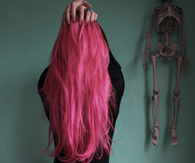 Gorgeous Dark Pink Hair