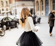 Black Tutu for Ladies