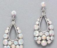 Iridescent Teardrop Earrings