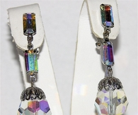Crystal & Rhinestone Drop Earrings