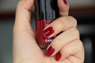Chanel red nails