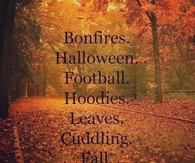 What I love about Autumn...