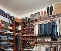Beautifully organized closet