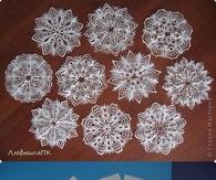 D Paper Snowflakes