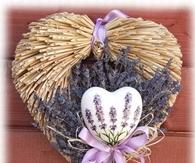 DIY Dry Plants Wreath