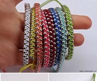 DIY Rainbow Friendship Bracelets