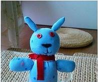 DIY Sock Puppy Dog Doll