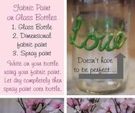 DIY Fabric Paint Jars