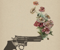 Gun of flowers
