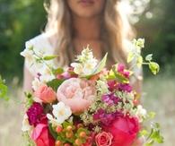Bold & Bright Wedding Bouquet
