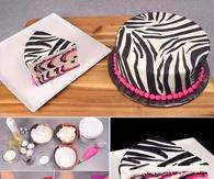 DIY Zebra Cake