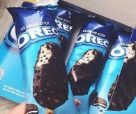Oreo ice cream stick