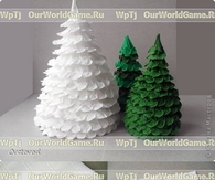 DIY Pretty Paper Christmas Tree