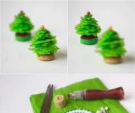 DIY Mini Christmas Tree Craft Tutorial
