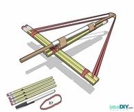 DIY Pencil Bows Internet Tutorial